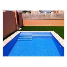 Piscine escalier volet recherche google house for Construction piscine geomembrane