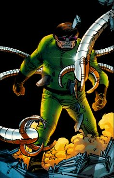 Doctor Octopus (Dr. Otto Octavius) | art by John Romita, Jr.