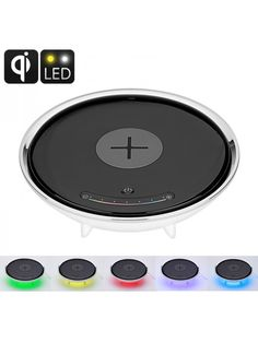 Wireless Charging LED Color Light - Millions Of Colors Qi-Enabled Wireless Charging Smart Home Accessory Latest Gadgets, Gadgets And Gizmos, Travel Gadgets, Cell Phone Accessories, Home Accessories, Smart Home, Light Colors, Consumer Electronics, Led