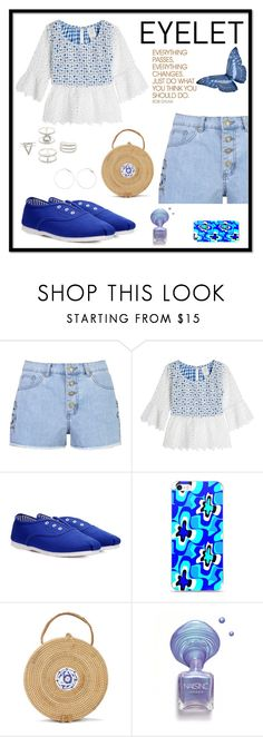 """Eyelet"" by freida-adams ❤ liked on Polyvore featuring Boohoo, Anna Sui, Hard Graft and Charlotte Russe"