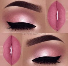 Pleasantly Pink Makeup
