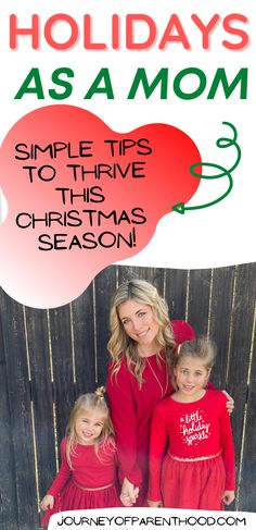 Thrive this Christmas! How to survive the christmas season as a mom and actually ENJOY the holidays too! What to let go of and what to manage on your plate to allow yourself JOY this year during the holiday season. | mom hacks | christmas hacks for moms Christmas On A Budget, Christmas Hacks, Holiday Crafts For Kids, Christmas Gift Guide, Holiday Themes, Diy Christmas Gifts, Family Christmas, All Things Christmas, Christmas Activities For Families