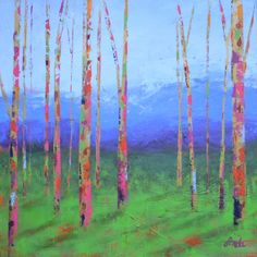 """""""High Country Color Again' by Fonda - Sold by Sozo Gallery, Charlotte, NC"""