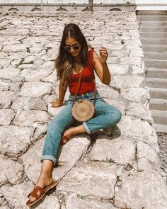 Trendy Ideas For Travel Clothes Mexico Fashion Casual Outfits, Cute Outfits, Fashion Outfits, Fashion Clothes, Looks Style, Style Me, Spring Summer Fashion, Spring Outfits, Mexico Fashion