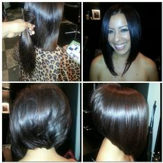 Miraculous A Line Cut A Line And Salons On Pinterest Short Hairstyles For Black Women Fulllsitofus