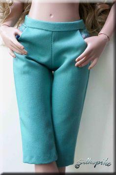 Silkspike Dolls Trouser Lining Tutorial