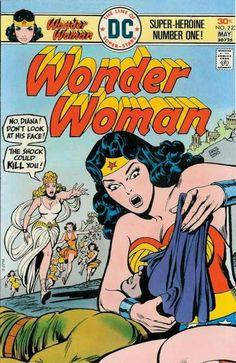 Cover for Wonder Woman # 223 - April-May, Dc Comics Superheroes, Star Comics, Bd Comics, Marvel Comics, Dc Comic Books, Comic Book Covers, Comic Art, Batman, Superman