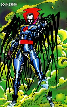 Astonishing X — Mister Sinister by Jim Lee