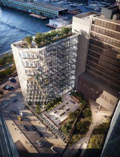 Studio Gang reveals High Line-hugging Solar Carve Tower for New York