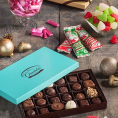 No matter who you're buying for, chocolate is always the answer. Shop our full collection! Holiday Gifts, Gift Wrapping, Healthy Recipes, Candy, Snacks, Shop, Christmas, Life, Collection