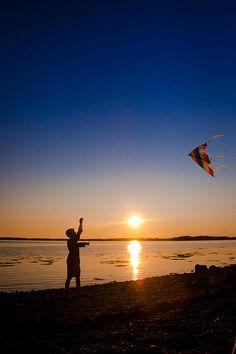 Fly A Kite by Christine Sharp