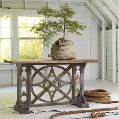 Hooker Furniture Melange Rafferty Console Table - 638-85001