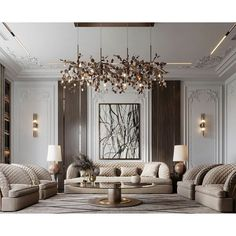 Image may contain: indoor, vase and couch Living Tv, My Living Room, Interior Design Living Room, Living Room Designs, Living Room Decor, Neoclassical Interior Design, Luxury Interior Design, Classic Living Room, Classic Interior