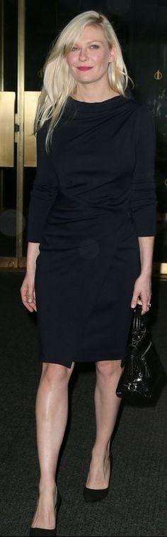 Black dress and handbag
