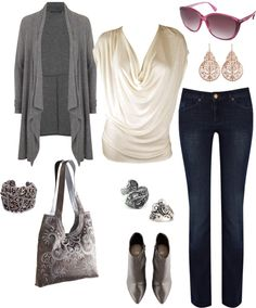"""Soft Summer Soft Dramatic - Casual everyday"" by gracekellyssu ❤ liked on Polyvore"