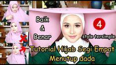 Hijab Tutorial Segi Empat, Youtube, Style, Swag, Youtubers, Outfits, Youtube Movies