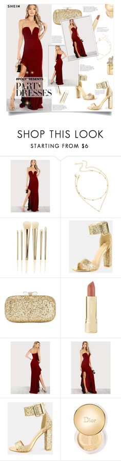 """""""#PolyPresents: Party Dresses"""" by smajlovicelvira ❤ liked on Polyvore featuring Sephora Collection, INC International Concepts, Axiology, Christian Dior, Marc Jacobs, contestentry and polyPresents"""