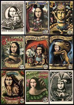 page1 [Gillian Golding] (Gioconda / Mona Lisa)