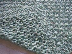 Child's Knitted Blanket #690 by Lion Brand Yarn