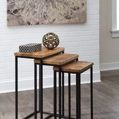 T506-316 - NESTING END TABLES (3/CN)