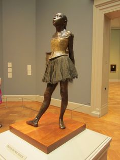 I saw this at the Met in NY when I was 17. By Edgar Degas.