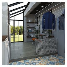 120 Best Laundry Room Decor Ideas and Design For 2019 Outdoor Laundry Rooms, Tiny Laundry Rooms, Laundry Room Bathroom, Laundry Room Storage, Small Bathroom, Basement Laundry, Laundry Closet, Small Laundry, Drying Room