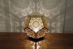 HYBYCOZO Dodecahedron Table Light Sacred Geometry #cozodesign