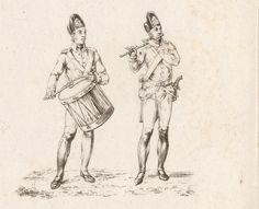 Schema aller Uniformen der K.K. Armee im Jahre 1798