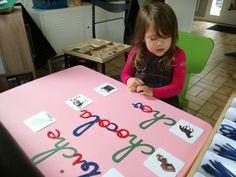 L'écriture et la lecture avec Montessori