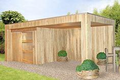 Pool-house en bois sur mesure Provence - Alpes - Cote d'Azur Garden Inspiration, Garden Ideas, Monaco, Decoration, Terrace, Pergola, Shed, Outdoor Structures, Provence