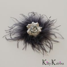 #LUVIT  We LUV Sparkly things  Check-out our Silver Rose and Marabou #FeatherHairClip piece to complete your #NewYears style perfectly!  Available at www.KittyKatrina.com in our Flower Clips and Pins Section  #flowerhairclip #flowerhairclips #featherhair #featherhairpiece #flowerchildren #flowerchild #festival #festivalfashion #festivallife #pinupgirl #pinuphair #1920shair #1920sfashion #newyear #newyear2015 #newyears2015 #newyearsparty #newyearseve #newyearwedding
