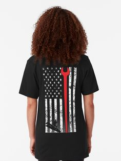 Black African American Pride Man Hardest Iron On T-Shirt Heat Transfer Vintage