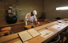 The most popular sushi restaurant you've never seen. #vegas