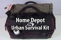 EverydayTacticalVids challenged himself to build an urban survival kit using only items he found at Home Depot. The total cost for this kit was $235. #survivaltools