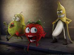 30 Incredibly Funny Food Art | Abduzeedo Design Inspiration
