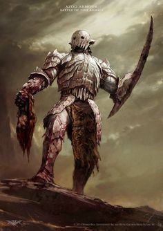 azog concept from the Hobbit