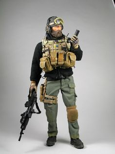 "Red Planet Toys Originals ""Private Military Contractor in Afghanistan"""