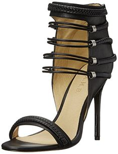 L.A.M.B. Women's Katelyn Dress Sandal, Black, 8 M US *** You can get more details by clicking on the image.