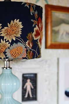 cute to do for desk lamp for room!