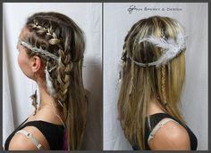 indiánský účes Hair Styles, Beauty, Hair Plait Styles, Hair Makeup, Hairdos, Haircut Styles, Hair Cuts, Hairstyles, Beauty Illustration
