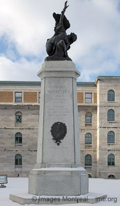 Monument aux Patriotes, au pied du courant, Montréal Information, Quebec, Monuments, Statues, Images, Canada, Culture, Vintage, Beautiful