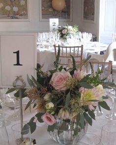 Silver vase in situ