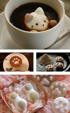 Marshmellow nel cappuccino
