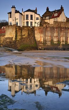 Robin Hoods Bay - Yorkshire, England magical relections