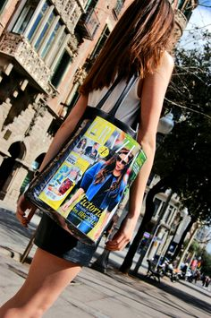 Dare to DIY in English: DIY Tutorial: How to make a tote bag
