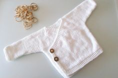 Baby sweater kimono. Bamboo newborn kimono sweater. knitted newborn gift, Nursery baby kimono.natural antibacterial. eco friendly. on Etsy, $35.00