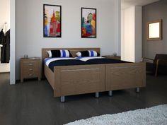 BERGEN bedset DEELBAAR  140x200/210 cm., 160x200/210 cm., 180x200/210 cm.  Ook als een tweepersoonsbed - verkrijgbaar: model Mistral  comfort ledikant www.theobot.nl Zwaag / Hoorn N-H