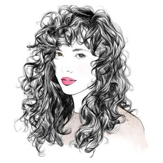 The Choppy Shag. 6 haircuts for curls: Trends and tips for every curl type - CosmopolitanUK Layered Curly Hair, Curly Hair With Bangs, Haircuts For Curly Hair, Curly Hair Cuts, Girl Haircuts, Curly Hair Styles, Natural Hair Styles, Layered Curls, Shaggy Curly Hair