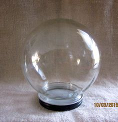 Vintage Glass Dome Bowl O Beauty Co. by angelinabella on Etsy