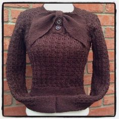 Day 7 #vpjuly - Knitspiration - I don't knit but I like this vintage sweater